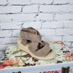 Rockport Kairi Xstrap Wedge Espadrille Sandals